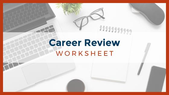 Career Review Worksheet